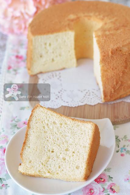 ultra soft vanilla milk chiffon cake