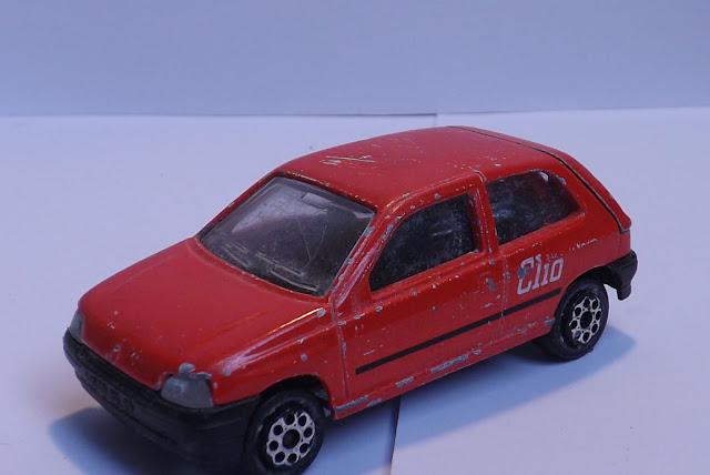 Majorette Renault Clio