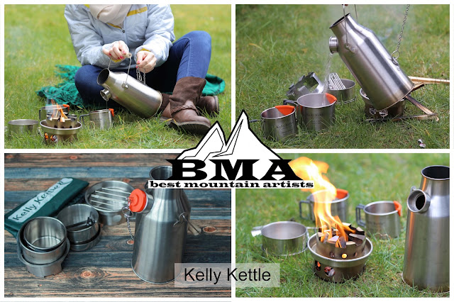 Trekker Set  - Kelly Kettle Irland - Sturmkanne - outdoor blog - Wasserkocher - best-mountain-artists