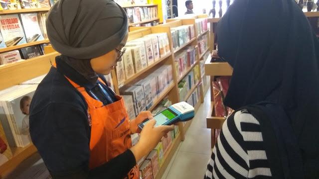 Layanan POS Mobile akan diterapkan di Gramedia seluruh Indonesia (dok.windhu)