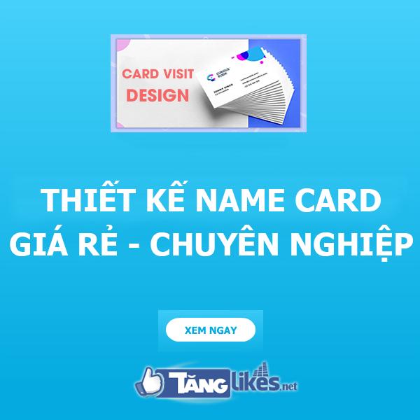 thiet ke name card