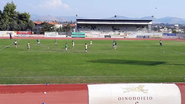 Στο 0-0 έμεινε ο Παναργειακός με το Διαβολίτσι στο Άργος
