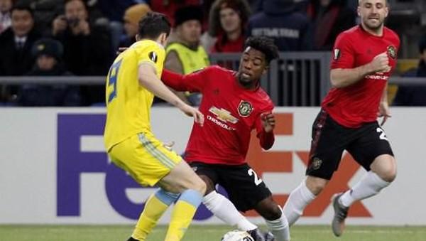 Hasil Liga Europa: Tim B MU Ditekuk Astana 1-2