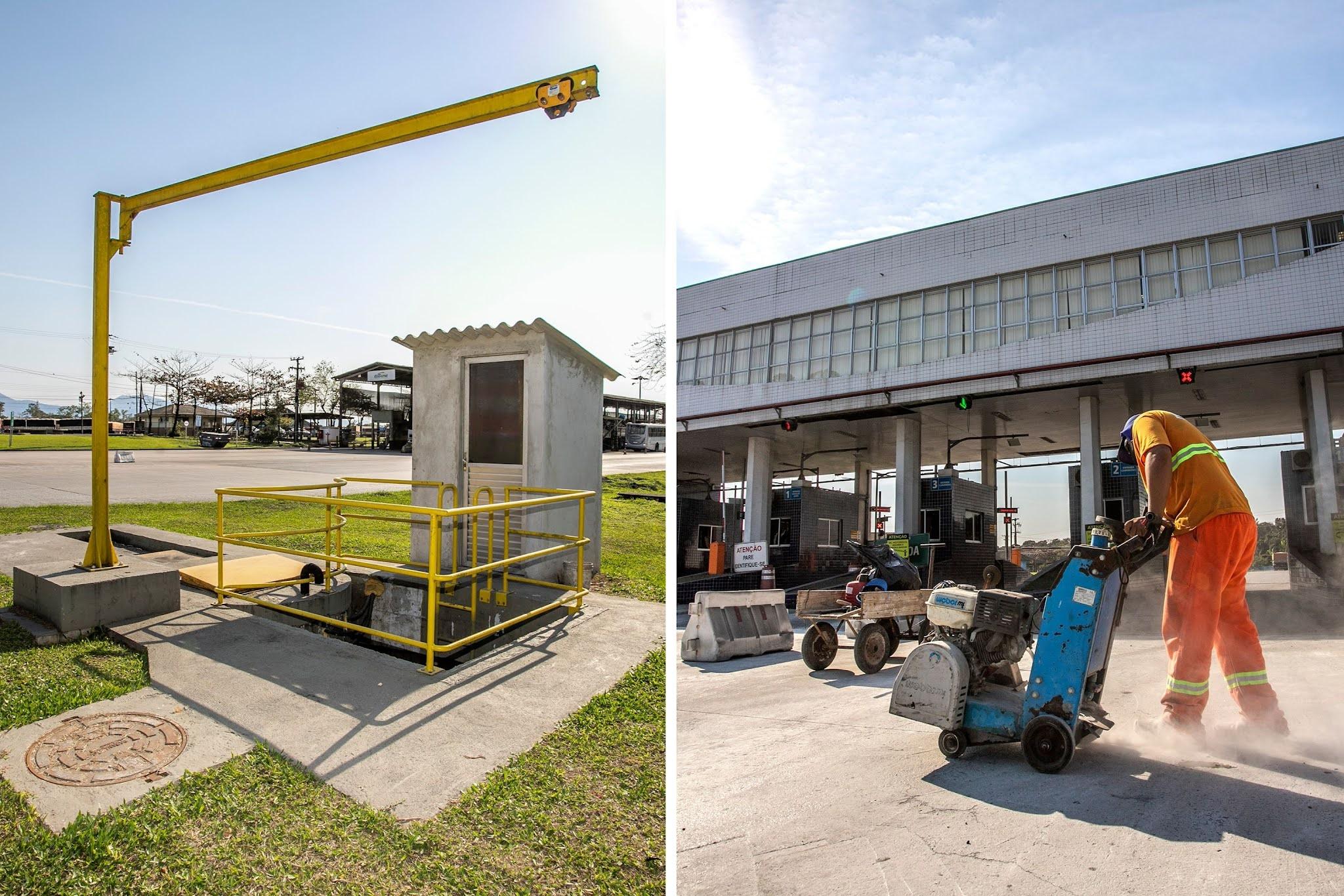 Pátio de Triagem do Porto de Paranaguá recebe manutenção e melhorias