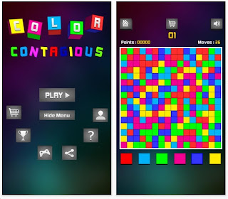 Color Contagious: free puzzle app game