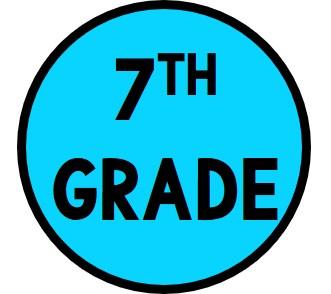 7th Grade Button