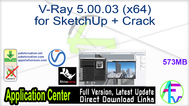 V-Ray Next Build 5.00.02 for Rhinoceros 6-7 + Crack