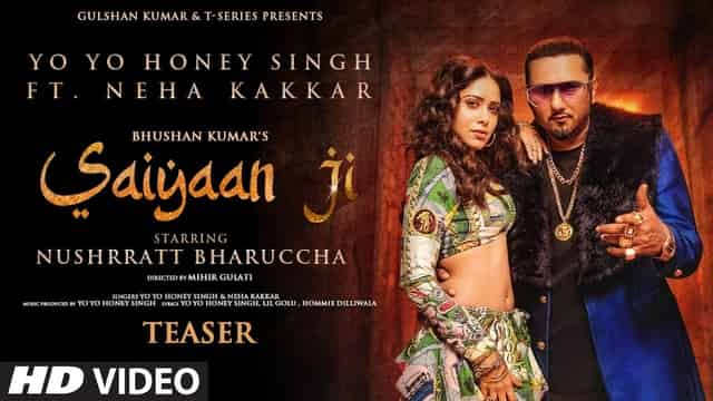 सैयां जी Saiyaan Ji Lyrics In Hindi - Yo Yo Honey Singh