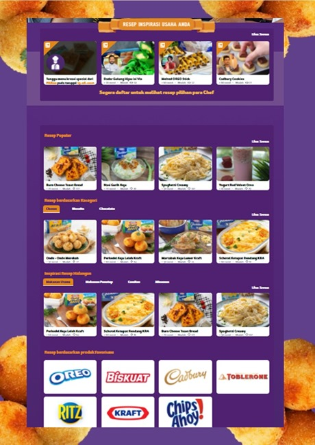 Home page Snacks-desserts.id