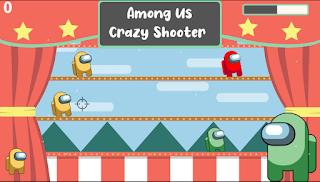 Jogar Among Us Crazy Shooter jogo online grátis