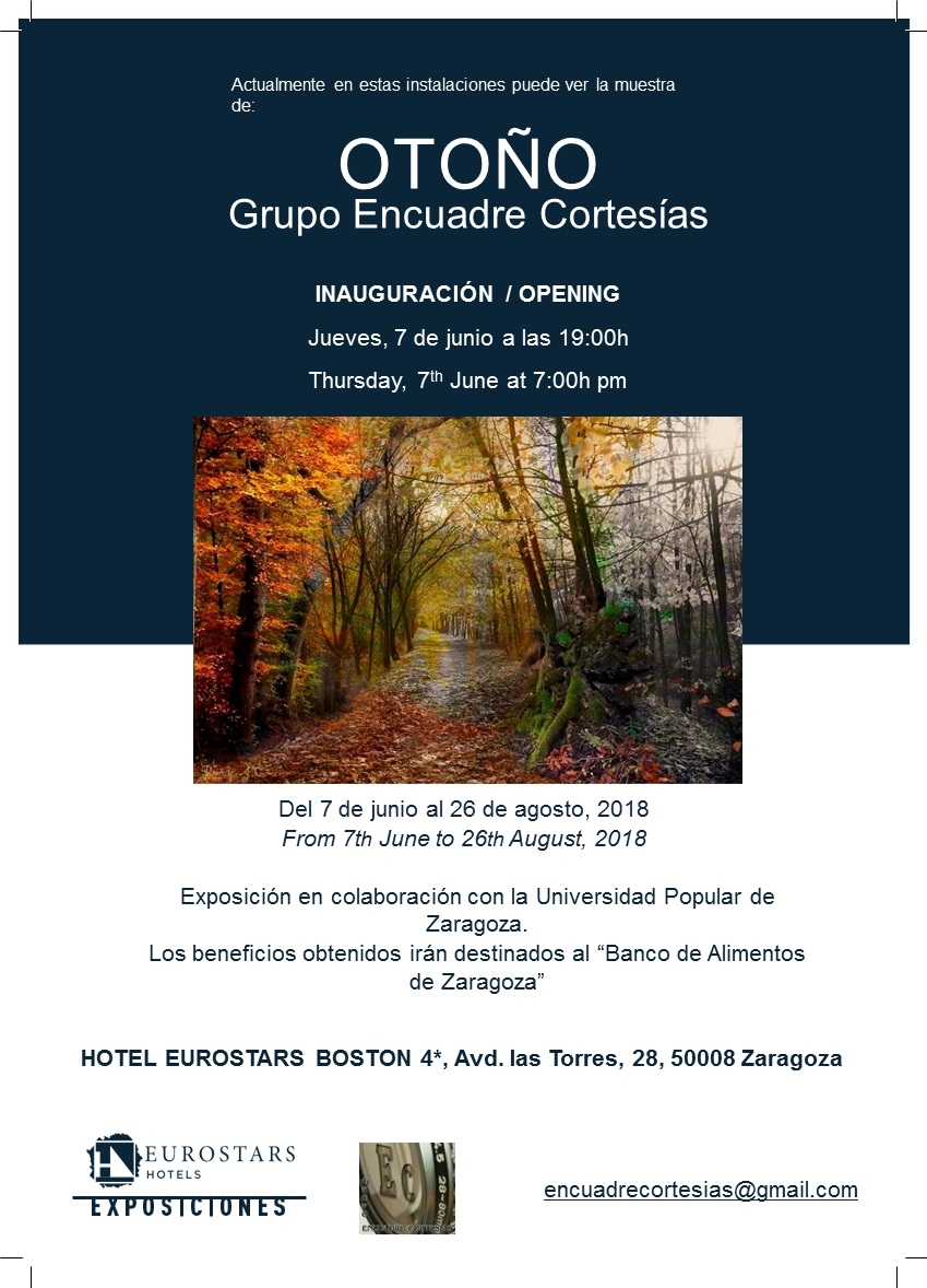 """Universidad Popular de Zaragoza: Exposición Fotografía """"OTOÑO """"del ..."""