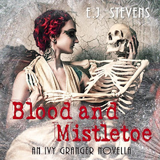 Blood and Mistletoe Ivy Granger Psychic Detective Award Winning Urban Fantasy Audiobook by E.J. Stevens