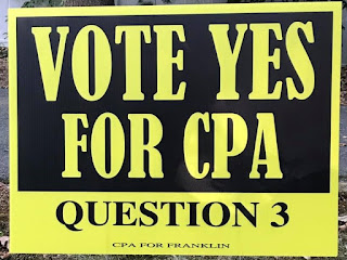 "Would you like a ""VOTE YES FOR CPA"" lawn sign?"