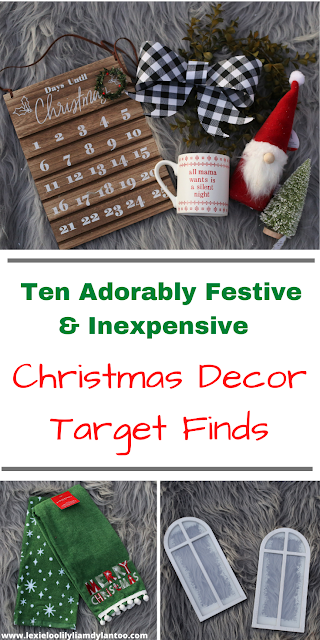 Ten Adorably Festive & Inexpensive Christmas Decor Target Finds