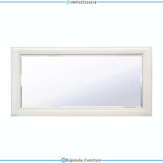 Tempat Tidur Minimalis Putih Duco Furniture Luxury Jepara RM-0296