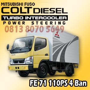 mitsubishi colt diesel canter fe71