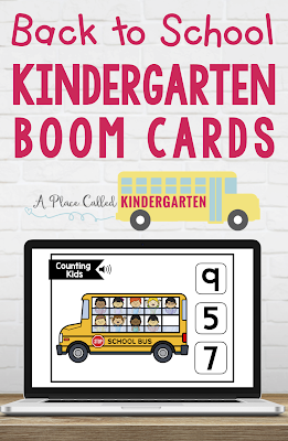 Use fast play or student logins to send digital tasks Boom Cards in your Kindergarten digital learning or face to face learning classroom.