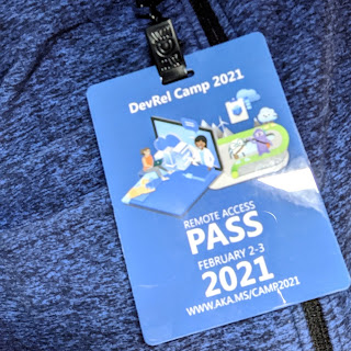 DevRel 2021 pass