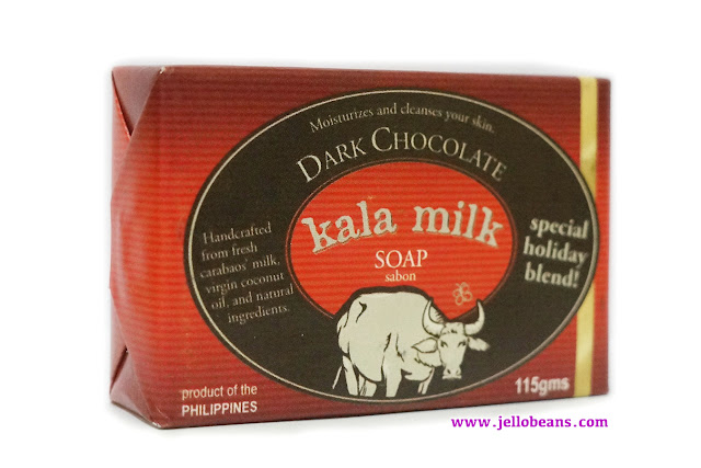 Kala Milk Soap in Dark Chocolate