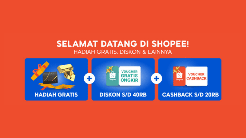Promo Khusus Pengguna Baru Shopee 2021