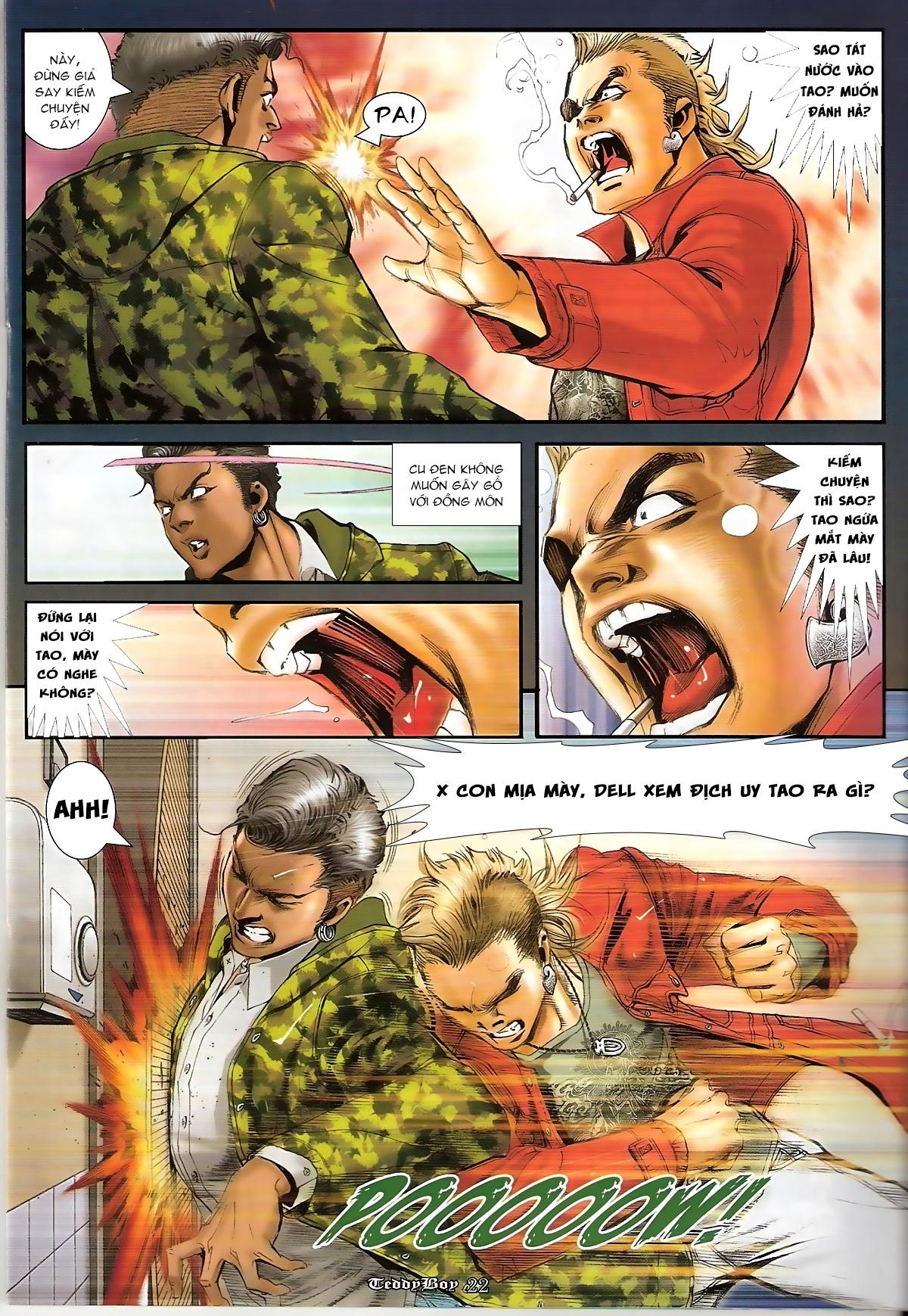 Người Trong Giang Hồ - Chapter 1267: Quá Giang Hổ vs Phi Châu Hổ - Pic 19