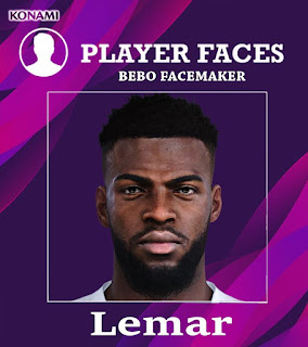 PES 2020 Faces Thomas Lemar by Bebo