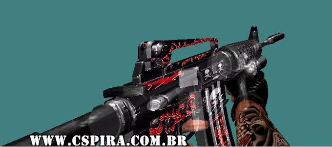 Skin [M4A1] (Skull Blood) - CSPira!