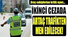 Sürücülere Önemli Uyarı