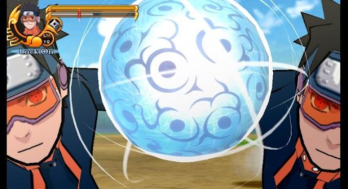 Download Mod Texture Naruto [Obito Uchiha Gennin] NSUNI For Emulator PPSSPP