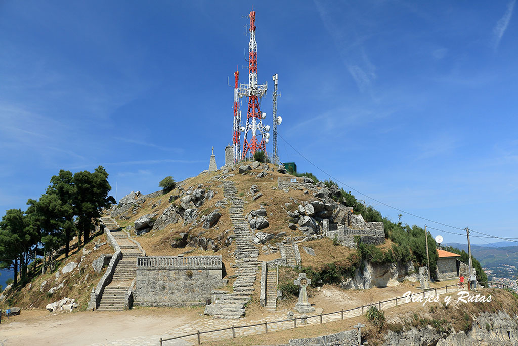 Monte de Santa Tecla, A Guarda