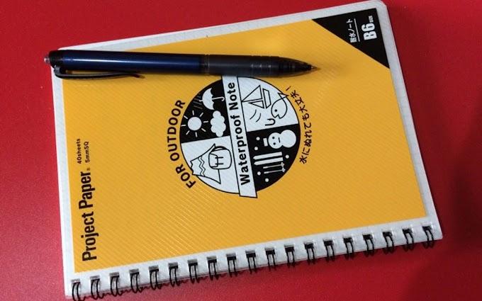 外で使いたいノートとペン