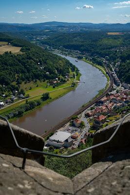 Malerweg Etappe 7 | Von Kurort Gohrisch bis Weißig | Wandern Sächsische Schweiz | Pfaffenstein – Festung Königstein 27