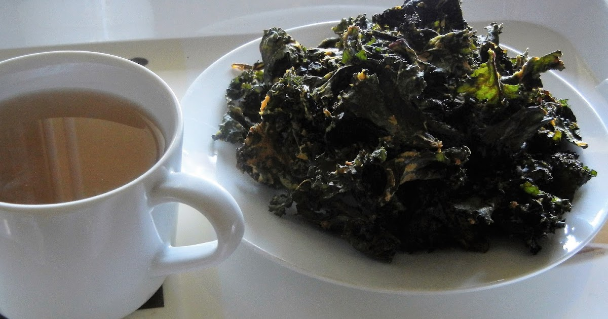 ... healthy recipes: Kale Chips (Indian version with light besan batter