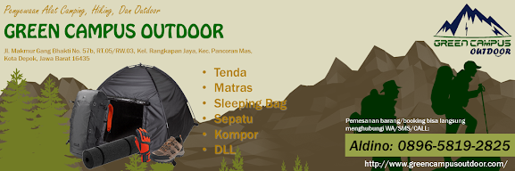 Poster Green Campus Outdoor Depok_outdoor_hiking_camping_gunung