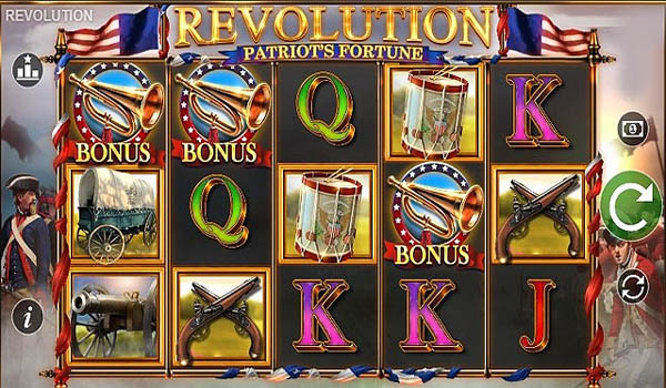 Main Gratis Slot Indonesia - Revolution: Patriot's Fortune (Blueprint Gaming)
