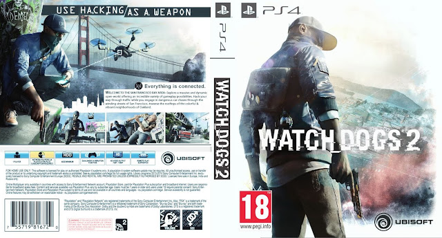 Capa Watch Dogs 2 PS4