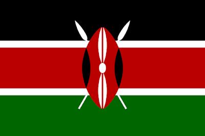 Logo Gambar Bendera Negara Kenya PNG JPG ukuran 400 px