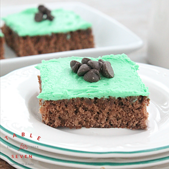 Irish Creme Brownies