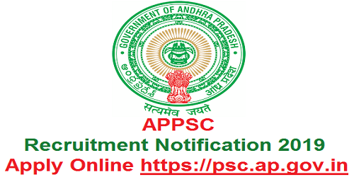 APPSC Recruitment Notification 2019 for 5 Posts in A.P Information Service