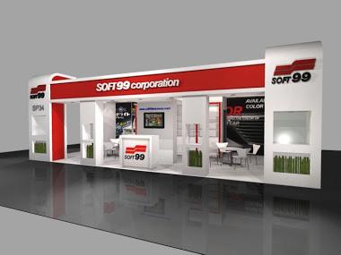 Booth Soft 99 untuk IIMS kontraktor pameran desain
