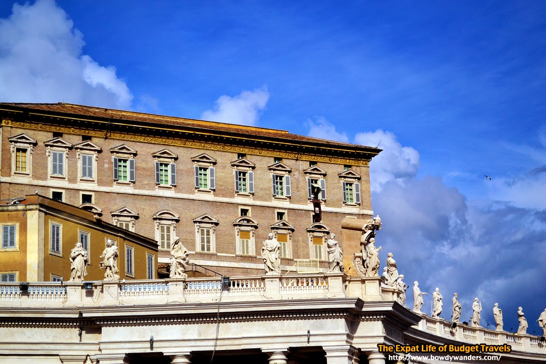 bowdywanders.com Singapore Travel Blog Philippines Photo :: Italy :: Rome Photo Essay: The Time When You Meet Pope Francis