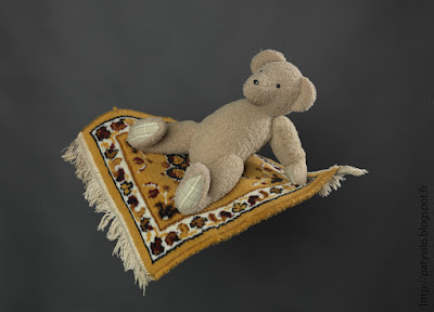 art textile contemporain, teddy bears