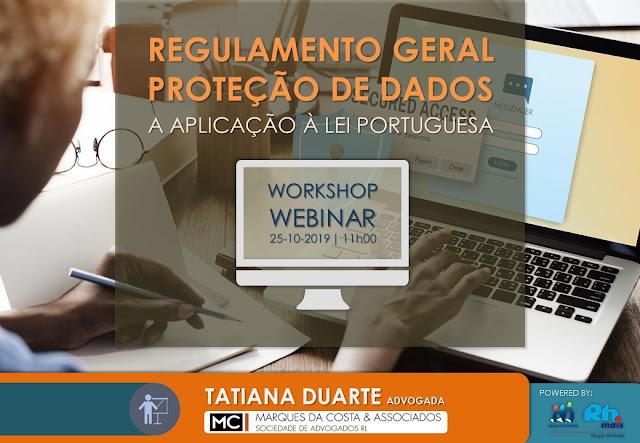 Grupo RHmais esclarece aplicação do RGPD em Portugal