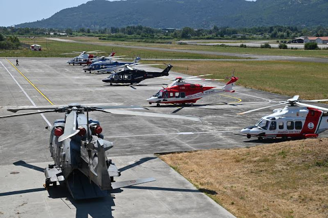 Guardia Costiera, la Base Aeromobili di Sarzana celebra i 25 anni dalla sua fondazione