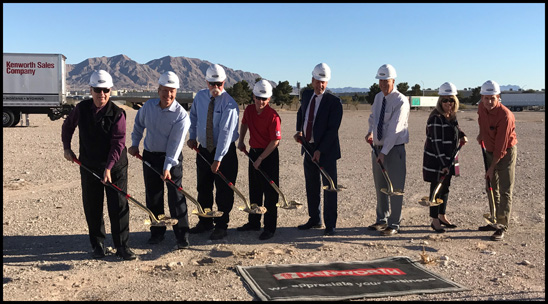 Kenworth Sales Co. Las Vegas, Nv Groundbreaking
