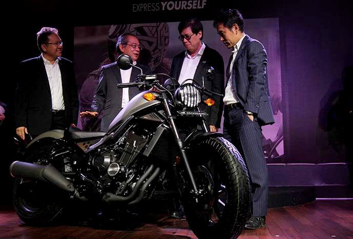 AHM resmi merilis Honda CMX500 Rebel di Indonesia dengan harga 147 Jutaan