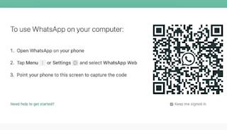 Whatsapp Web Login di HP