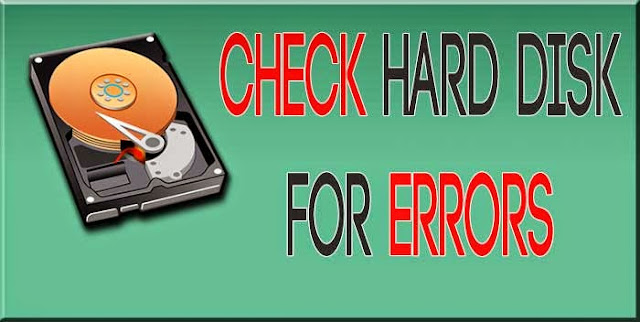How to Check your Hard Disk For Error