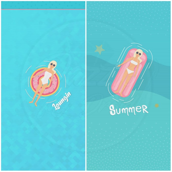 Summer FREEBIE walls
