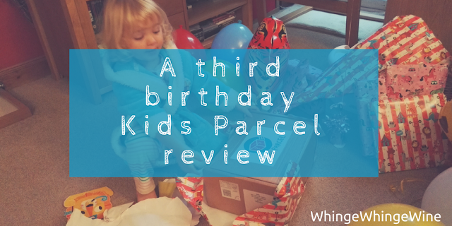 Another birthday blog: @KidsParcel review